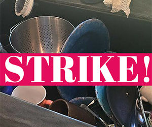 Housework Strike: Say NO to dirty dishes!