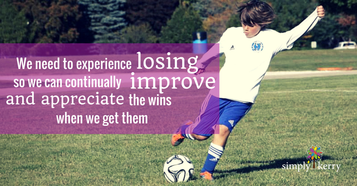 Soccer Kick and Quote