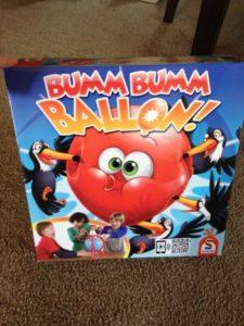Bumm Bumm Balloon Board Game