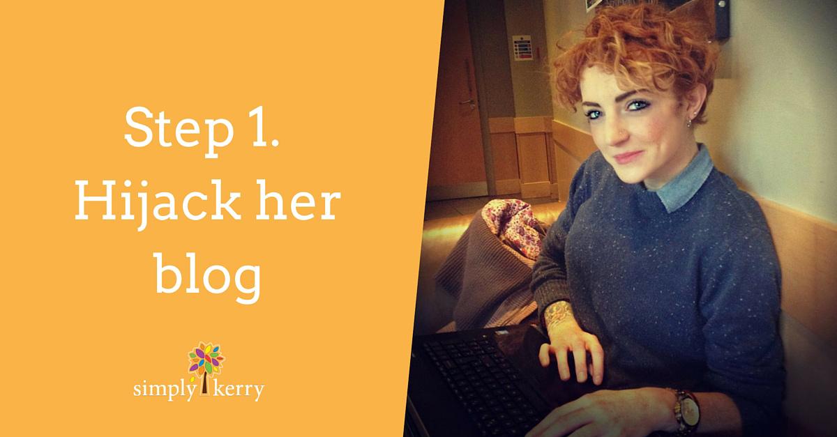 Hijacking Kerry's Blog