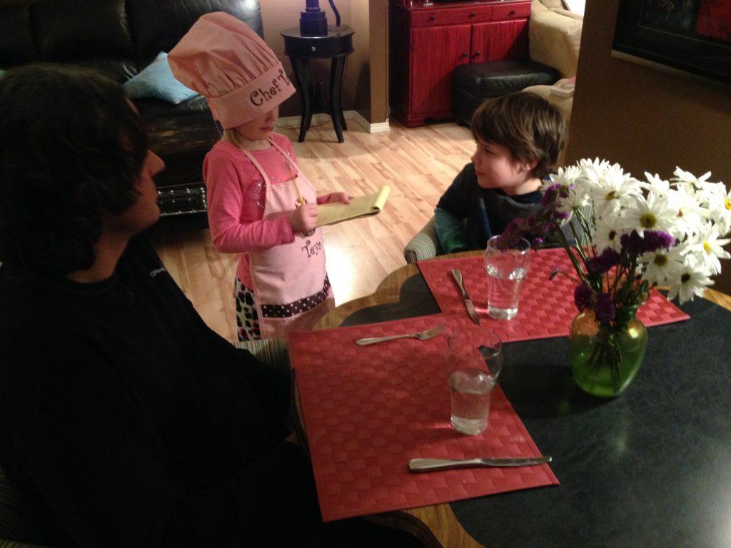 Let the kids plan dinner