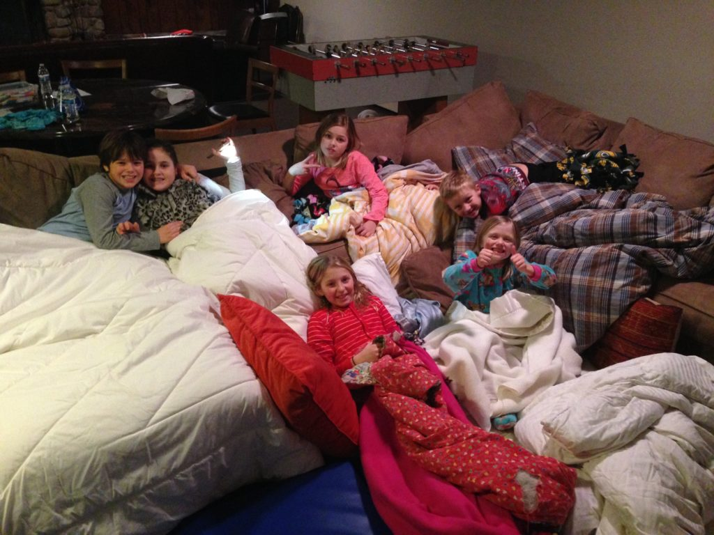 Camp out in your living room