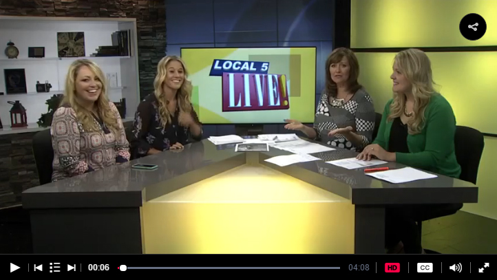 Jill and Kerry on Local Live 5