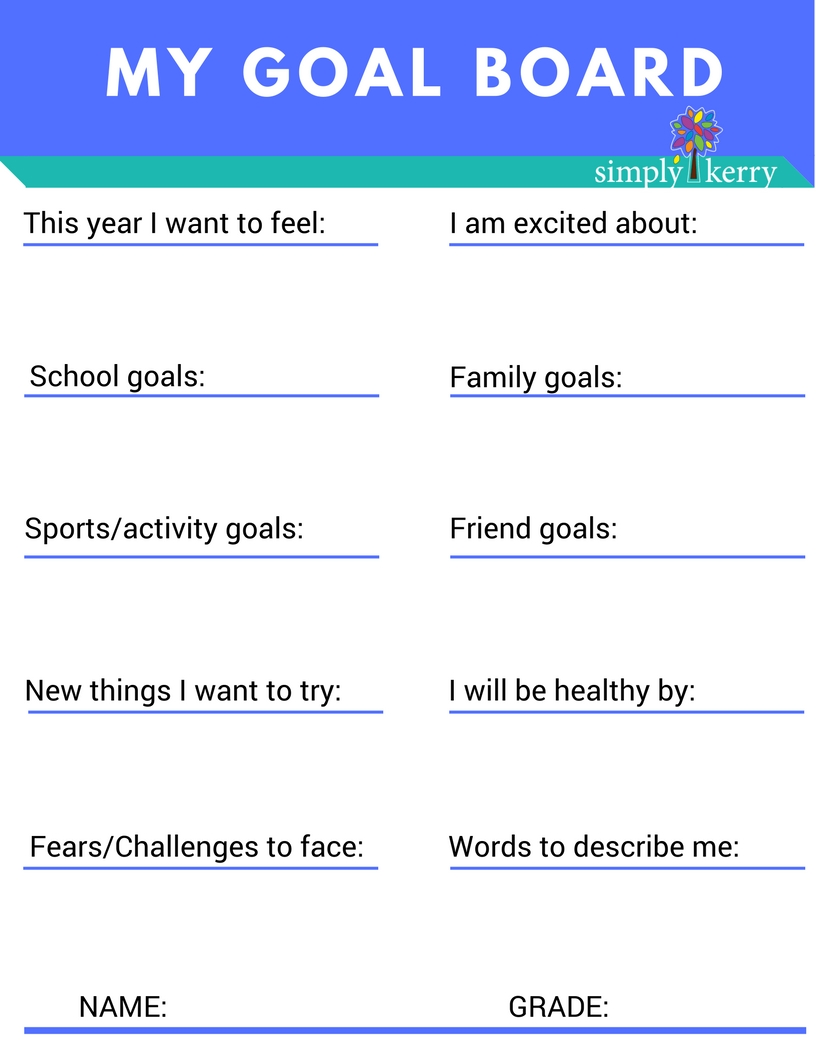 SimplyKerry_GoalBoard